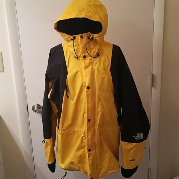f6f4a306d The North Face - Gore-Tex Jacket - Yellow